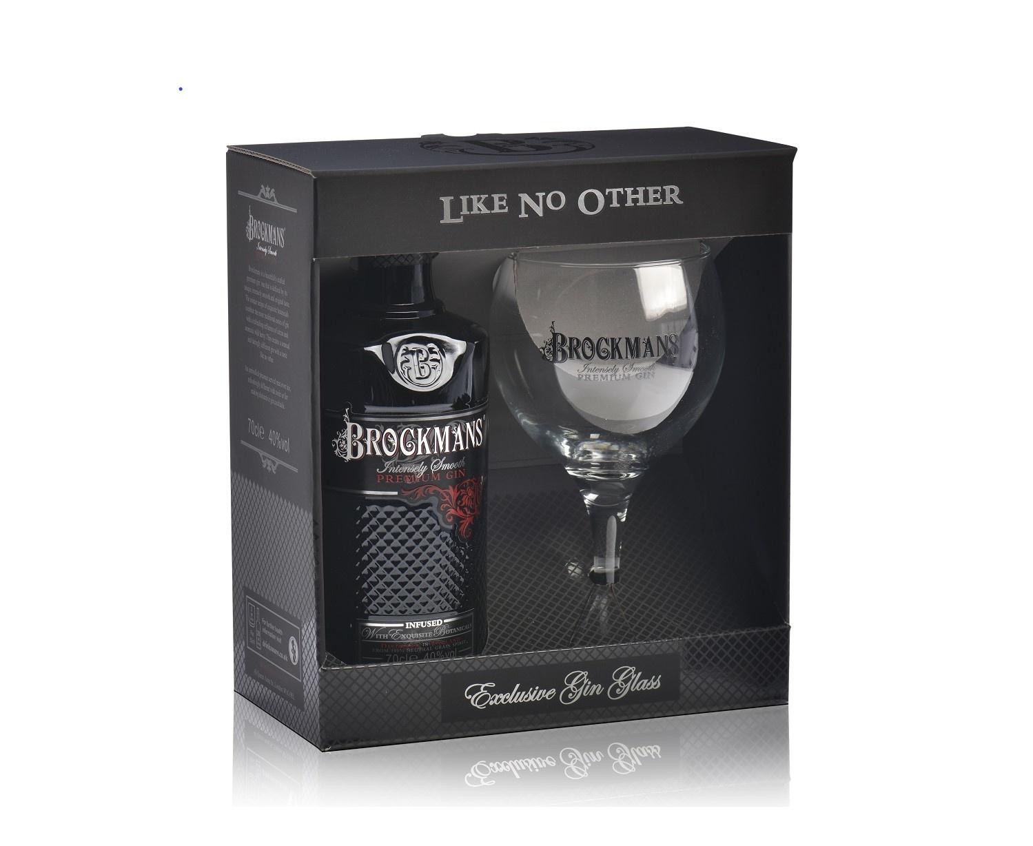 Brockmans Brockmans Premium Gin Giftpack 70CL