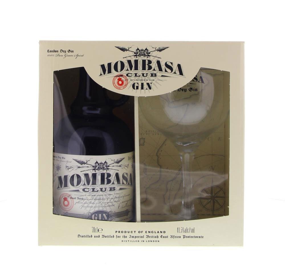 mombasa dry gin geschenkset