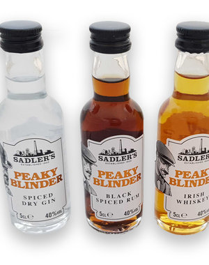 Peaky Blinders mini bottles - 3x 5cl