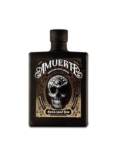 Amuerta Amuerte Coca Leaf Gin - Black Edition - 70CL