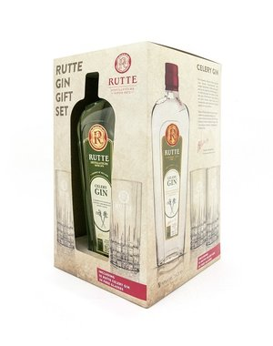 Rutte Celery Gin Giftpack met 2 glazen
