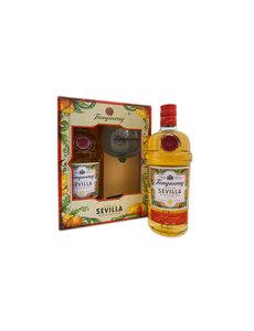 Tanqueray Flor de Sevilla 70CL Giftpack met glas