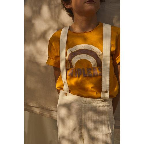 Say Please T-shirt korte mouw okergeel - Say Please SS19