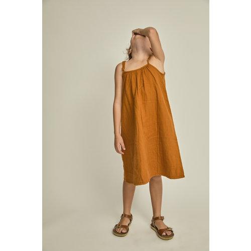 Say Please Bruine zomer jurk