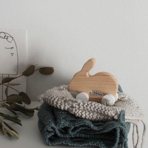 Pinch Toys Handgemaakt houten speelgoed Konijn