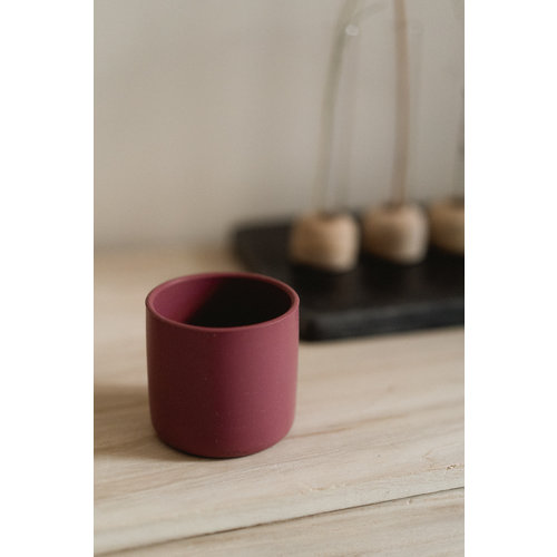 MinikOiOi Mini cup beker - donkerroze