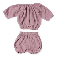 Comfy suit zomersetje Lila top & broek