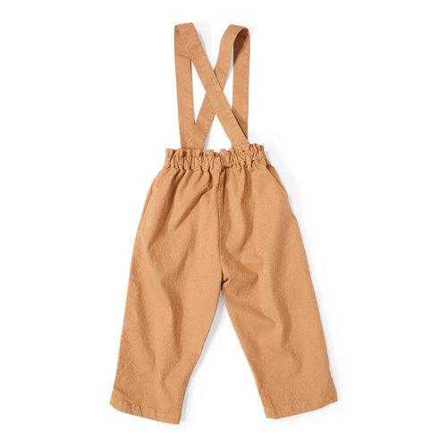 Daily Brat Dawn suit Khaki broek met bretels