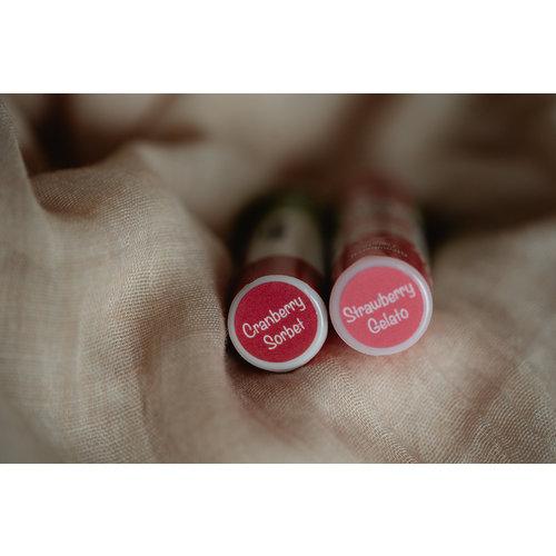 Miss Nella Lippenbalsem voor kinderen 'Strawberry Gelato' lichtroze