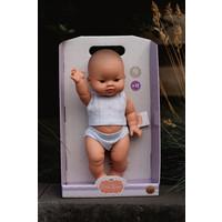Babypop Jongen met ondergoed - Aziatisch
