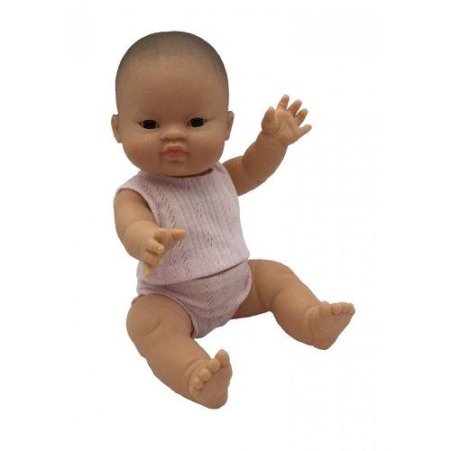 Paola Reina Babypop Meisje met ondergoed - Aziatisch