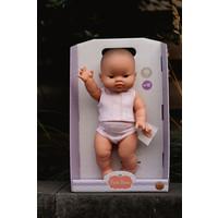 Babypop Meisje met ondergoed - Aziatisch