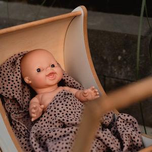 Paola Reina Babypop Jongen lachend - Blank