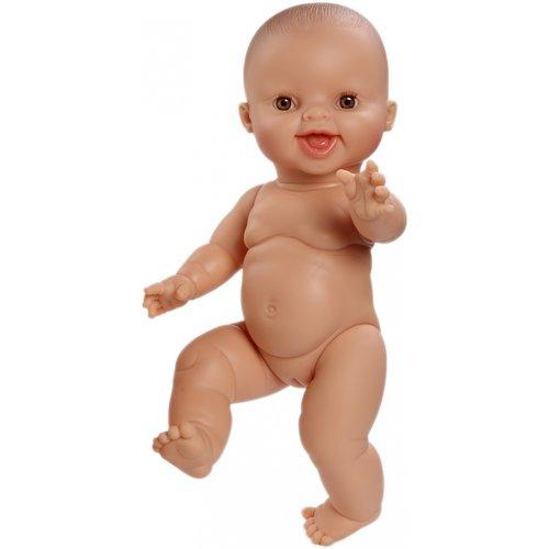 Paola Reina Babypop Meisje lachend - Blank