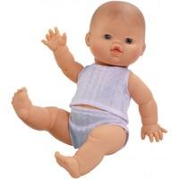 Babypop Jongen met ondergoed - Blank