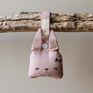 Fabelab Dieren rammelaar | Roze konijn