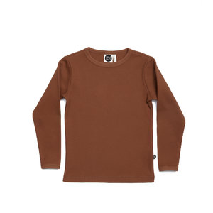 Mainio Mainio | Wafel shirt longsleeve 'Ginger'