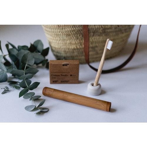 Hydrophil Bamboe koker voor bamboe tandenborstel