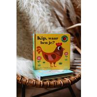 Kip, waar ben je? Flapjesboek