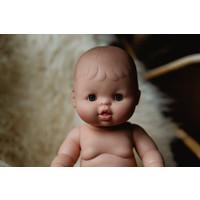 Babypop Meisje met ondergoed- Blank