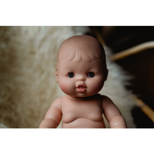 Paola Reina Babypop Meisje met ondergoed- Blank
