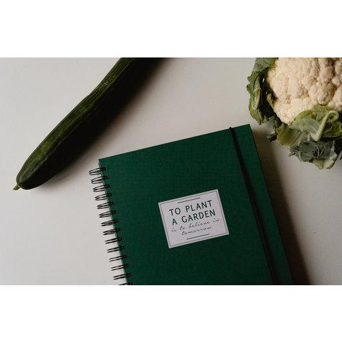House of Products Tuinboek | Invulboek voor moestuin liefhebbers
