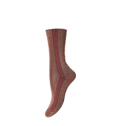 MP Denmark MP Denmark | Ankle Violeta | 1422 Dark Honey Stripe