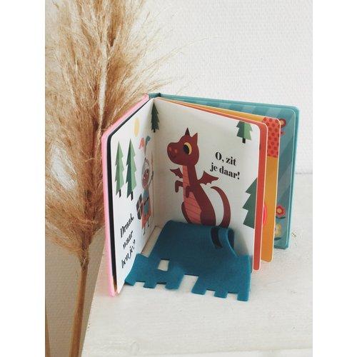 Boeken Eenhoorn, waar ben je? Flapjesboek met flapjes van vilt