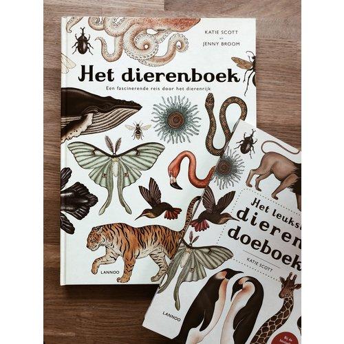Boeken Het leukste dierendoeboek - Katie Scott