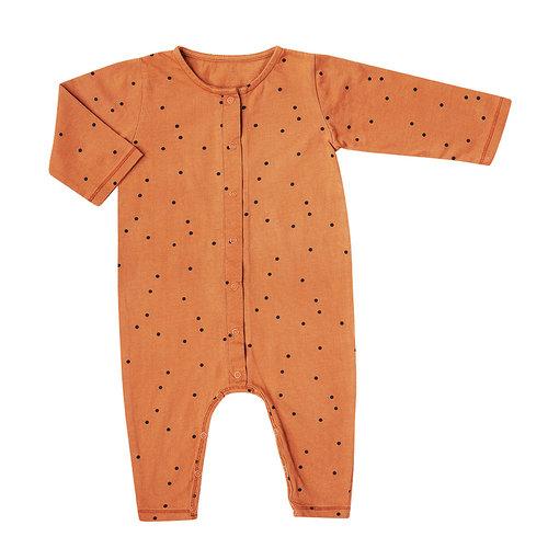 Bonjour Little Bonjour Little   Jumpsuit Dots Nut