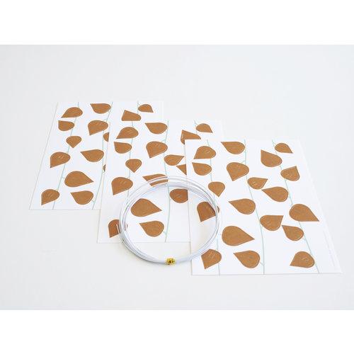 Jurianne Matter Jurianne Matter   Twig Leaves Ochre