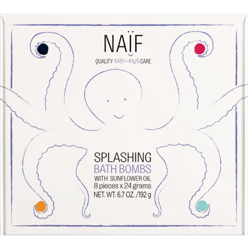 Naïf Naïf Splashing Bath Bombs