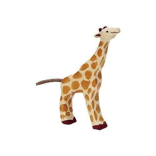 Holztiger Holztiger | Giraf klein etend