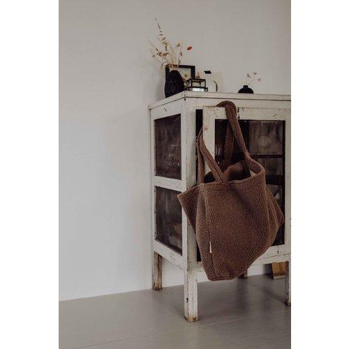 Studio Noos Studio Noos | Brown Chunky Teddy mom-bag