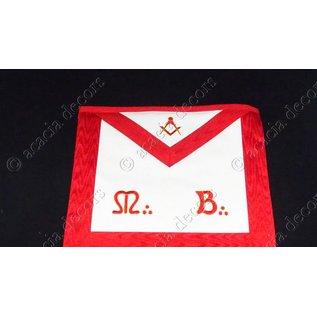 Master apron simili , M& B + compass