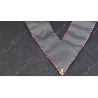 Band 18e Grad - Hand bestickt     einfaches Verankertes Kreuz