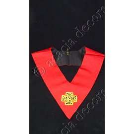 Collar 18th degree - hand embroided