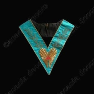 Worshipful Master Hand embroided 224 leaves