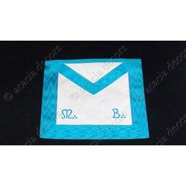 3rd degree M & B machine embroided