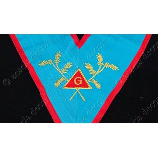 Worshipful master simple with acacia + G machine embroided
