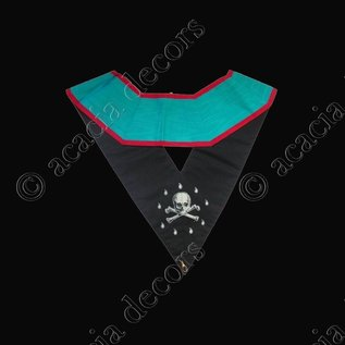Worshipful Master Machine embroided 224 leaves