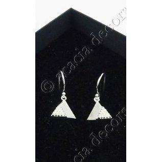 Ohrringe Anhänger mit 2 Dreiecken