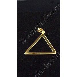 Hanger zonder ketting  kleine driehoek