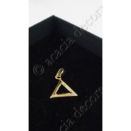 Hanger zonder ketting  kleine driehoek 5mm