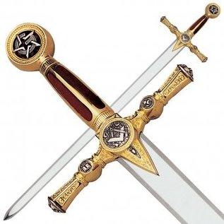 Schwert mit rotem Griff mit Gravuren  NUR IN BENELUX UND NORD FRANKREICH ERHÄLTLICH - PARIS