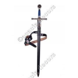 Leder Schwerthalter mit Gürtel (ohne Schwert)