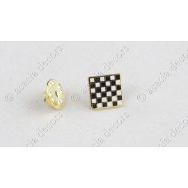 Pin tablero de ajedrez cuadrado