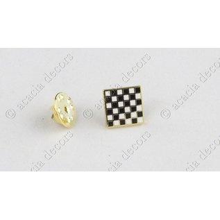 Pin checkers board square