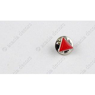 Pin rote Dreieck