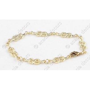 Bracelet brother's chain gold